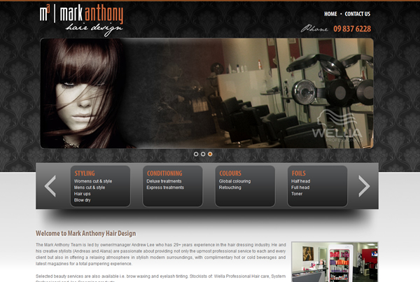 Mark Anthony Hair Design
