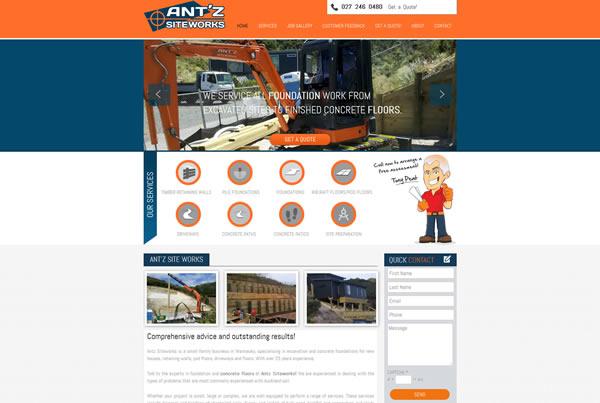 Ant'z Siteworks