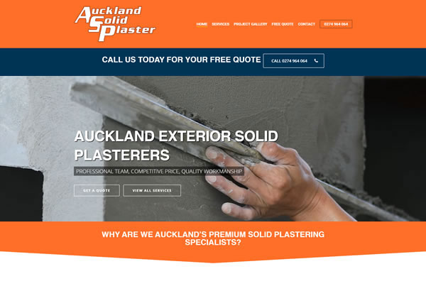 Auckland Solid Plaster